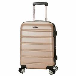 Rockland Luggage Melbourne 20 Inch Expandable Carry On, Cham