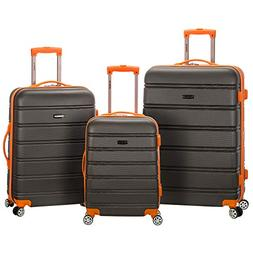 3 Piece Luggage Set, Charcoal