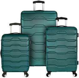 Luggage Set ABS Hard-Side Lightweight with 360° Spinner Whe