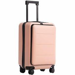 COOLIFE Luggage Suitcase Piece Set Carry On  Sakura pink..)
