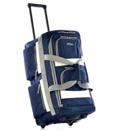 Luggage Travel Bag Wheels Carry On Suitcase Set Rolling Duff