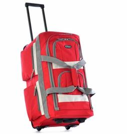 Luggage Wheels Travel Bag Set Rolling Duffel Carry On Suitca
