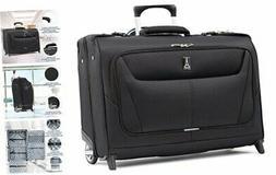 Maxlite 5-Lightweight Carry-On Rolling Garment Bag, Black, 2