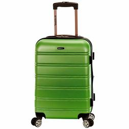 Rockland Melbourne 20 Inch Expandable ABS Carry On Luggage G