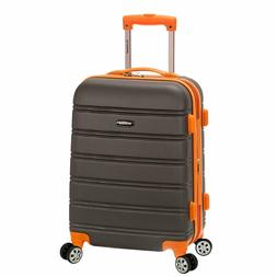 Rockland Melbourne 20 Inch Expandable ABS Carry On Luggage C