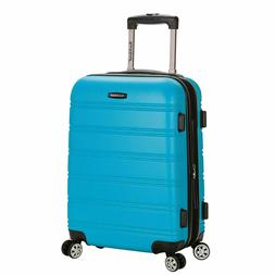 Rockland Melbourne 20 Inch Expandable ABS Carry On Luggage T