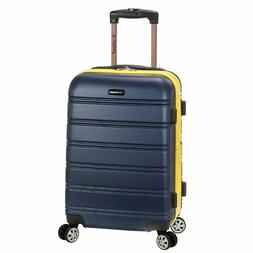 Rockland Melbourne 20 Inch Expandable ABS Carry On Luggage N