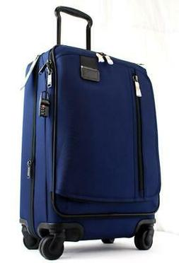 merge international expandable spinner carry on suitcase