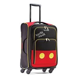 """Disney Mickey Mouse Pants 21"""" Spinner Suitcase by American T"""