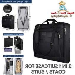 Multi Pocket Carry On Garment Bag Hanging Suit Carrier For T