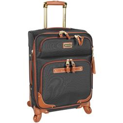 """NEW Steve Madden 20"""" Carry-On Softside Expandable Luggage Wi"""