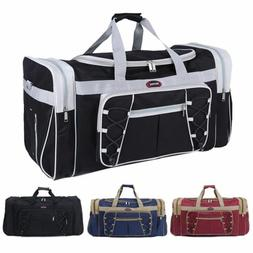 "New 26"" Heavy Duty Tote Gym Sports Bag Duffle Travel Carry S"