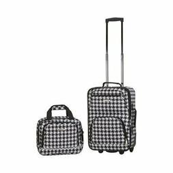 nib luggage rio softside 2 piece carry