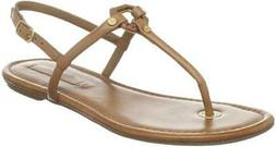 ON SALE BCBGMaxAzria Women Marilyn T-Strap Luggage Tan Leath