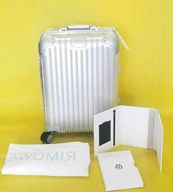 Rimowa Original Cabin Multiwheel travel Aluminum Carry On Lu