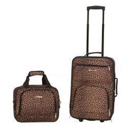 Rockland Luggage Rio SoftSide 2-Piece Carry-On Luggage Set