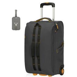 Hynes Eagle Rolling Wheeled Luggage Softside 21'' Carry-On T