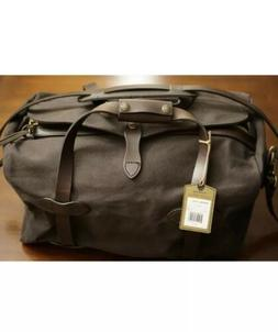 small rugged twill duffel bag brown brand