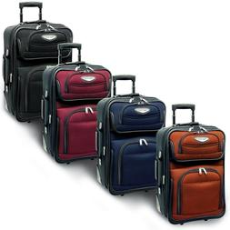 """Traveler's Choice Amsterdam 21"""" Carry-on Expandable Rolling"""