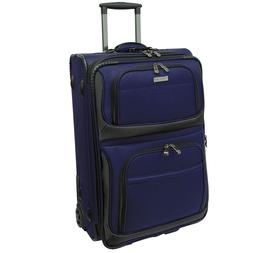 """Traveler's Choice Conventional Navy 22"""" Rugged Carry-On Roll"""