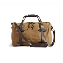 Men's Filson Twill Duffel Bag - Brown