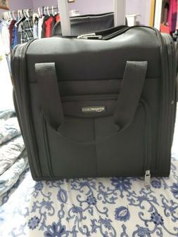 AmazonBasics Underseat Carry-On Rolling Travel Luggage Bag B