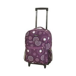 "Rockland Unisex  17"" Rolling Backpack R01"""